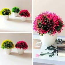 Mini Tree Pot Fake Flowers Potted Ornaments Decor Artificial Plants Bonsai Nice