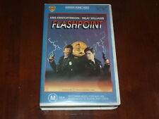 Flashpoint VHS 1980's Action Warner Home Video PAL