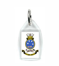 HMAS ADROIT ROYAL AUSTRALAIN NAVY KEY RING ACRYLIC BLURRED TO PREVENT THEFT