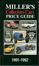 Millers Collectors Cars Price Guide 1991-92 + Art automobilia M/CYC Autos à pédales +