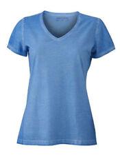 T-shirt, maglie e camicie da donna blu lunghezza lunghezza ai fianchi taglia XL