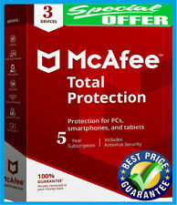 Mcafee Total protection 2020 Antivirus 🔥 3 Device 💻5 Years🔰 Înstant Dεlivery