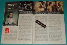 1958 TV ARTICLE~GEORGE REEVES SUPERMAN~JOI LANSING~LISA GAYE~JACK WEBB