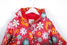 P338/72 Next Red Floral Rain Jacket, age 3-4, 104 cm