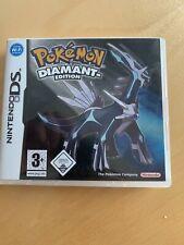 Pokémon Diamant Edition Nintendo DS DEUTSCH OVP ohne Anleitung guter Zustand
