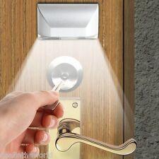 IR Motion Sensor Auto PIR Keyhole Lamp 4 LEDs Light for Door Keyhole Stairway
