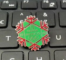 2010 Vancouver Olympic Official Timekeeper OMEGA 1968 Mexico Olympic Snow Pin