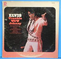 ELVIS PRESLEY FRANKIE & JOHNNY VINYL LP 1966 RE '76 GREAT CONDITION! VG+/VG!!B