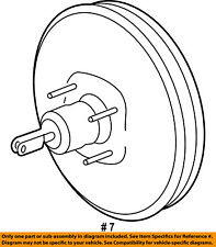 FORD OEM-Power Brake Vacuum Booster AT4Z2005A