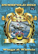 Dunsfold Wings and Wheels Airshow 2013 Official DVD Aircraft Aviation Planes