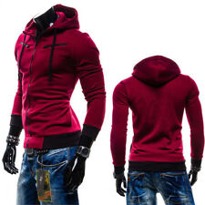 New Men's Outwear Sweater Winter Hoodie Warm Coat Jacket Slim Hooded Sweatshirt