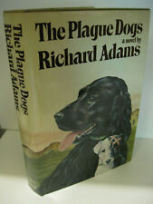 THE PLAGUE DOGS by Richard Adams 1st Edition/1st Printing 1978 Knopf Fine/Fine