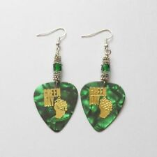 Round Plastic Drop/Dangle Costume Earrings