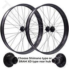 HED BIG ALUMINUM HALF DEAL 27.5 15x150 Front 12x197 Rear TA Fat Bike Wheelset