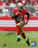 FRANK GORE Signed San Francisco 49ers Action 8x10 Photo - SCHWARTZ