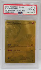Pokemon Legendary Treasures Reshiram 114/113 Ultra PSA 10 Gem Mint #28224670
