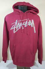 Stussy Sweatshirt Hoodie Large Pullover Hypebeast NYC Skate Hip-Hop Street