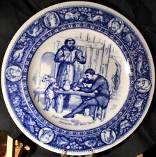 WEDGWOOD 'IVANHOE' DINNER PLATE, DESIGNED BY THOMAS ALLEN, c. 1881