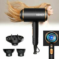 Professional 4000W Salon Negative Ionic Hair Dryer Blower Straightener Curler UK