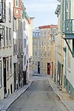 Alley in Quebec Canada Journal : 150 Page Lined Notebook/diary by Cool Image...