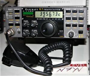 Elecraft K2/100 100W Ham Radio Transceiver 160-10 +GUARANTEED