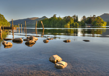 Lake District Photographic Print - Before Sunset (Derwentwater Launch)