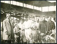 1926 ROGERS HORNSBY Silver Loving Cup Vintage Baseball Photo