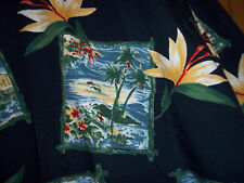Natural Issue Bird of Paradise Hawaiian Shirt Extra Large Tall XLT