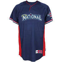 RARE~Majestic Baseball MLB ALL STAR  2010 NATIONAL LEAGUE Shirt Jersey~Mens 2XL