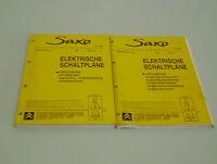 Manuale D'Officina Elettrica Citroen Saxo Stand 07/2000