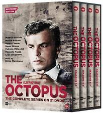 THE OCTOPUS Complete Series Restored Edition LA PIOVRA СПРУТ 21 DVD Set Reg1 New