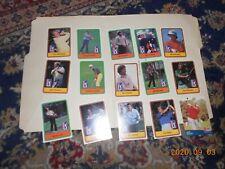 1981 PGA Tour Fourteen Cards, JC Sneed, Howard Twitty, Sam Snead Pro Set Card