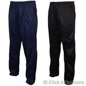 Mens Plain Joggers Jogging Sweat Pants Tracksuit Bottoms Jog Trousers Big Sizes