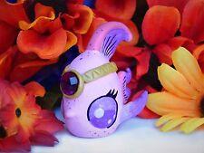 Littlest Pet Shop Angelfish ooak custom figure LPS pink fish
