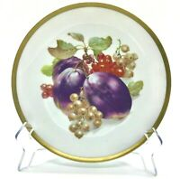 Golden Crown E&R 1886 Germany Fruit ORCHARD Pattern China Dish VINTAGE 1950's