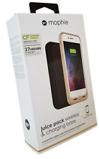Mophie iPhone 8 / 7 Juice Pack Wireless & Charging Base Cover Case - Gold