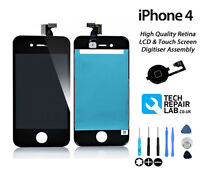 NEW Premium Quality LCD & Digitiser Touch Screen Replacement For iPhone 4 BLACK