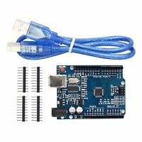 ATMEGA328 UNO R3 CH340 ARDUINO ATMEGA328P MICROCONTROLLER BOARD USB CABLE