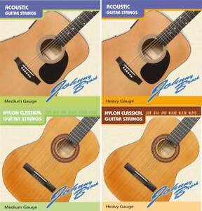 Johnny Brook High Quality Acoustic Classical Guitar Strings String Pack Of 6