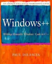 Windows++: Writing Reusable Windows Code in C++ (Andrew Schulman Programming