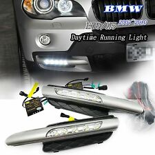 2007-2010 BMW X5 E70 High Power SMD LED DRL Bumper Fog lights