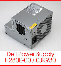 Dell power supply h280e-00 0jk930 bloc d'alimentation système Optiplex 360 740 745 755 gx520 gx620