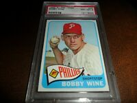 1965 OPC O-pee-chee #36 Bobby Wine Philadelphia Phillies NM MINT PSA 8 POP 8