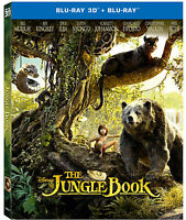 The Jungle Book (2016) (Blu-ray 3D + Blu-ray)(All Region) (3D+2D) (2 DISC) (New)