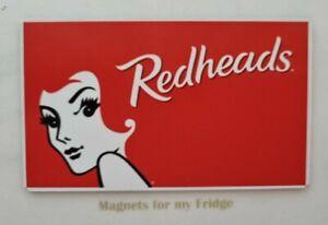 Collectable Redheads Matches Design Fridge Magnet - M761 LA