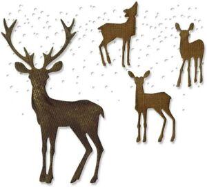 Tim Holtz Winter Wonderland Thinlits Dies Sizzix 662426