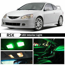 9x Green Interior LED Package Kit for 2002-2006 Acura RSX