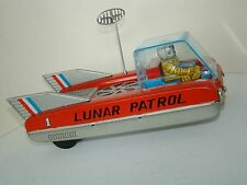 SPACE MOBILE, LUNAR PATROL 1, CRAGSTAN co. JAPAN 60s*****SEE IT ON VIDEO*****