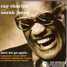 ★☆★ CD SINGLE Ray Charles & Norah JonesHere we go again 2 Tracks CARD SLEEVE