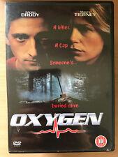 Adrien Brody Maura Tierney oxígeno ~ 1998 enterrado vivo thriller | Rare fuera de imprenta UK DVD